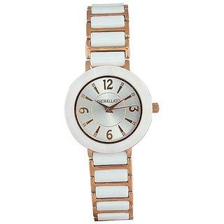 Morellato Round Dial White Analog Watch For Women-R0153103503
