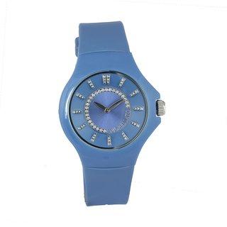 Morellato Round Dial Sky Blue Analog Watch For Women-R0151114504