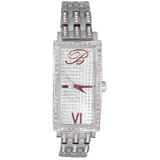 Blumarine Rectangle Dial Silver Analog Watch For Women-Bm3069Ls26M