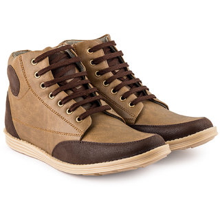 RockSoft Lifestyle Brown Casual Shoes
