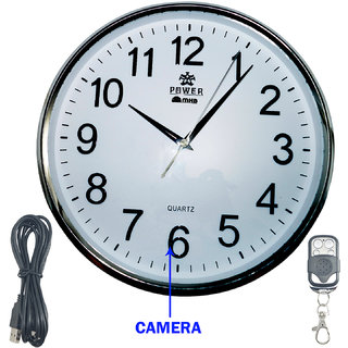 M MHB HD Quality Wall Clock Hidden Spy Camera Wireless Security Camera  Surveillance Cameras Video Motion Detection Recorder .original brand Sold by M MHB