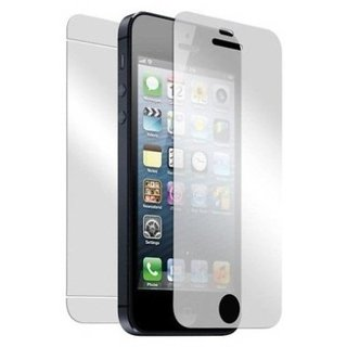 Apple iPhone 5 Front and Back Tempered Glass Screen Guard by Moscos