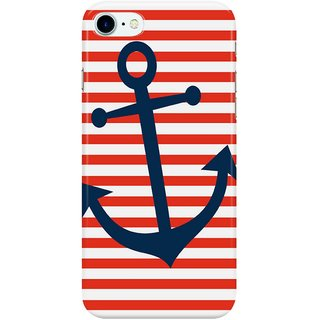The Fappy Store Nautical-Anchor Back Cover for Apple iPhone 7