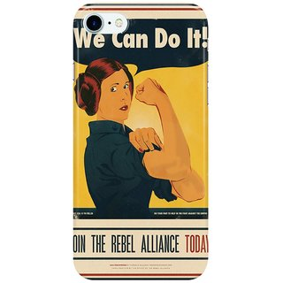 Dreambolic Leia-the-Riveter-2-The-Alliance-Strikes-Back Back Cover for Apple iPhone 7
