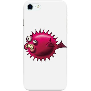 The Fappy Store grumpy-fish Back Cover for Apple iPhone 7