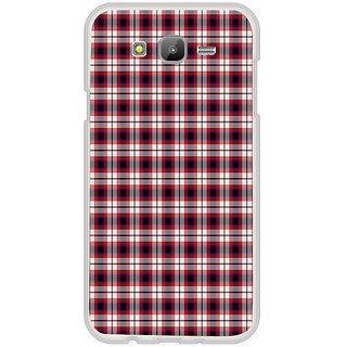 ifasho Colour Full Squre Pattern Back Case Cover for Samsung Galaxy On 7Pro
