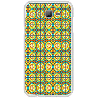 ifasho Animated Pattern design colorful flower in royal style with lines Back Case Cover for Samsung Galaxy On 7Pro