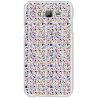 ifasho Modern Art Design Pattern with Lot Of small heart Back Case Cover for Samsung Galaxy On 7Pro