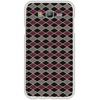 ifasho Animated Pattern of Chevron Arrows royal style Back Case Cover for Samsung Galaxy On 7Pro