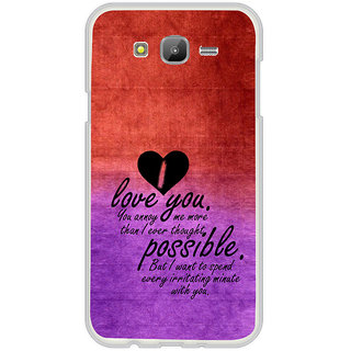 ifasho Love Quotes for love Back Case Cover for Samsung Galaxy On 7Pro