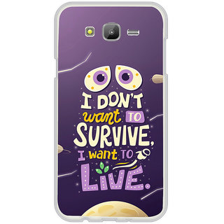 ifasho life Quotes Back Case Cover for Samsung Galaxy On 7Pro
