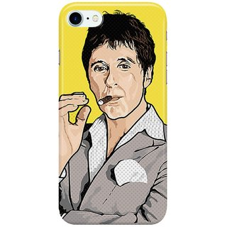 Dreambolic al-pacino-scarface Back Cover for Apple iPhone 7