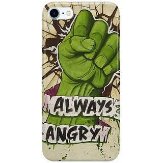 Dreambolic Always-Angry Back Cover for Apple iPhone 7