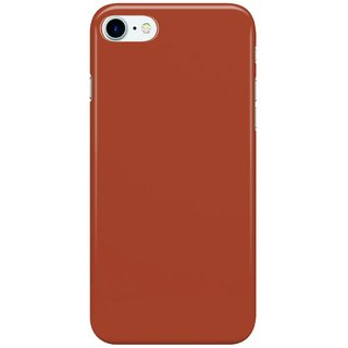 Dreambolic Beautiful-Cushions-Plain-Chinese-red Back Cover for Apple iPhone 7