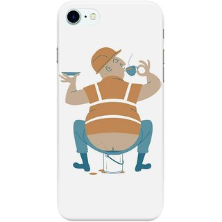 Dreambolic Builder's-Tea Back Cover for Apple iPhone 7