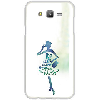 ifasho Quotes on shopping girls Back Case Cover for Samsung Galaxy On 7Pro