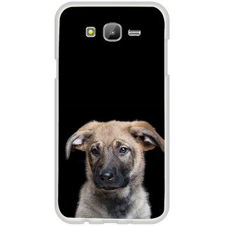 ifasho Grey Dog Back Case Cover for Samsung Galaxy On 7Pro