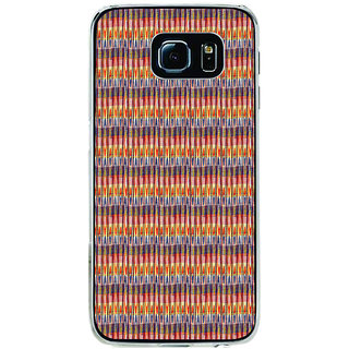 ifasho Animated Pattern of Chevron style pencils arrows Back Case Cover for Samsung Galaxy S6 Edge