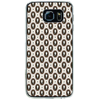 ifasho Animated  Royal design with Queen head pattern Back Case Cover for Samsung Galaxy S6