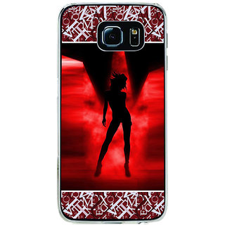 ifasho Girl dancing Back Case Cover for Samsung Galaxy S6 Edge