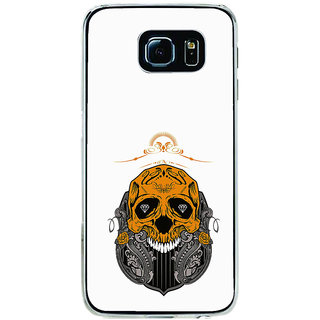 ifasho Modern  Design animated skeleton Back Case Cover for Samsung Galaxy S6 Edge