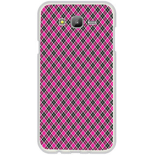 ifasho Colour Full Square Pattern Back Case Cover for Samsung Galaxy On 7Pro