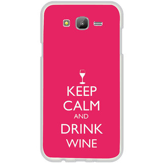 ifasho Nice Quote On Keep Calm Back Case Cover for Samsung Galaxy On 7Pro