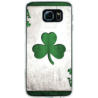 ifasho Cardiogram in Lines of heart Back Case Cover for Samsung Galaxy S6 Edge