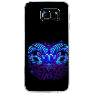 ifasho zodiac sign capricorn Back Case Cover for Samsung Galaxy S6