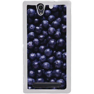ifasho grapes pattern Back Case Cover for Sony Xperia C4