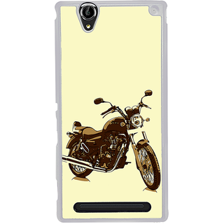ifasho Royal Bike Back Case Cover for Sony Xperia T2
