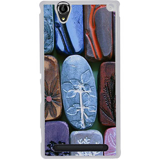 ifasho Rocks with different design Modern Design Back Case Cover for Sony Xperia T2