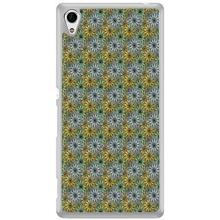 ifasho Animated Pattern design many small flowers  Back Case Cover for Sony Xperia M4 Aqua