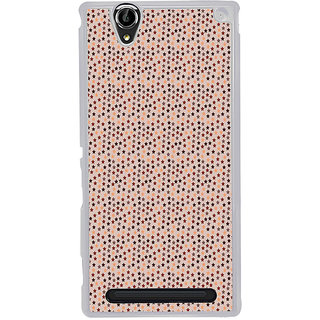 ifasho Animated Pattern colourful littel stars Back Case Cover for Sony Xperia T2