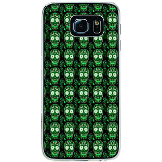 ifasho Modern  Design animated skeleton Pattern Back Case Cover for Samsung Galaxy S6