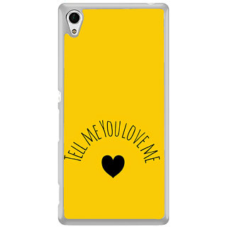 ifasho Love  Quotes  Back Case Cover for Sony Xperia Z3 Plus