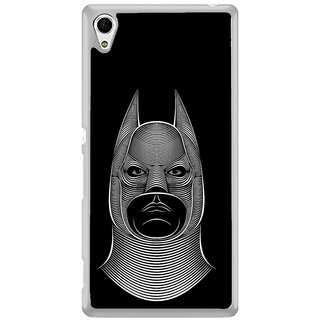 ifasho Animated man face cartoon with horn Back Case Cover for Sony Xperia Z3 Plus