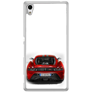ifasho Back side Car Back Case Cover for Sony Xperia Z3 Plus
