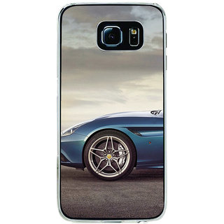 ifasho Stylish long Car wheel Back Case Cover for Samsung Galaxy S6