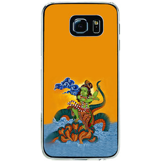 ifasho krishna Dancing on kalia serpant Back Case Cover for Samsung Galaxy S6