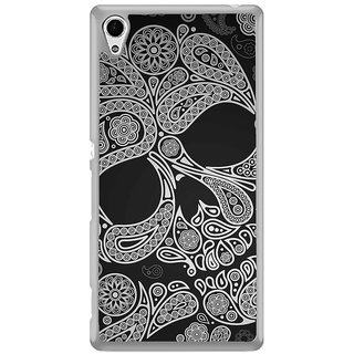 ifasho Modern  Design skeleton in royal Pattern Back Case Cover for Sony Xperia Z3 Plus