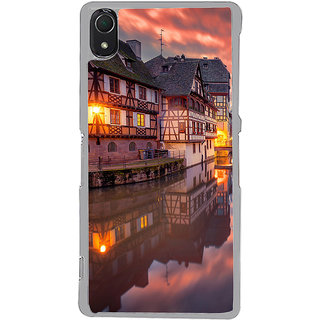 ifasho Venice City Back Case Cover for Sony Xperia Z3