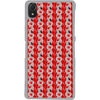 ifasho Animated  Feather Back Case Cover for Sony Xperia Z3