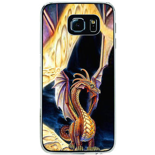 ifasho animated Dragon Back Case Cover for Samsung Galaxy S6