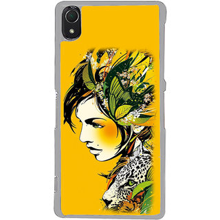 ifasho Jungle girl Back Case Cover for Sony Xperia Z3