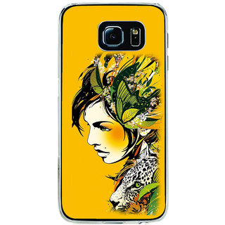 ifasho Jungle girl Back Case Cover for Samsung Galaxy S6