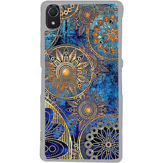 ifasho modern design in multi color aztec pattern Back Case Cover for Sony Xperia Z3