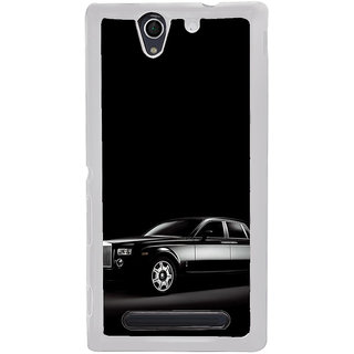 ifasho The Car Back Case Cover for Sony Xperia C4