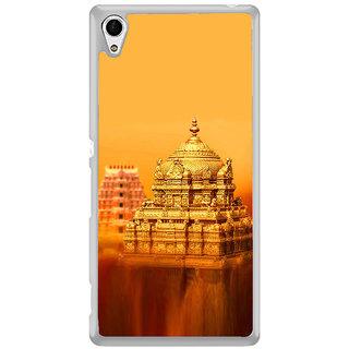 ifasho Tirupati Balaji Temple Back Case Cover for Sony Xperia Z3 Plus