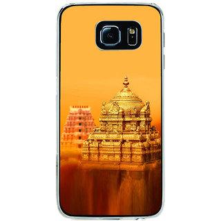 ifasho Tirupati Balaji Temple Back Case Cover for Samsung Galaxy S6 Edge